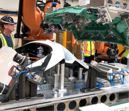 Automotive vacuum handling equipment