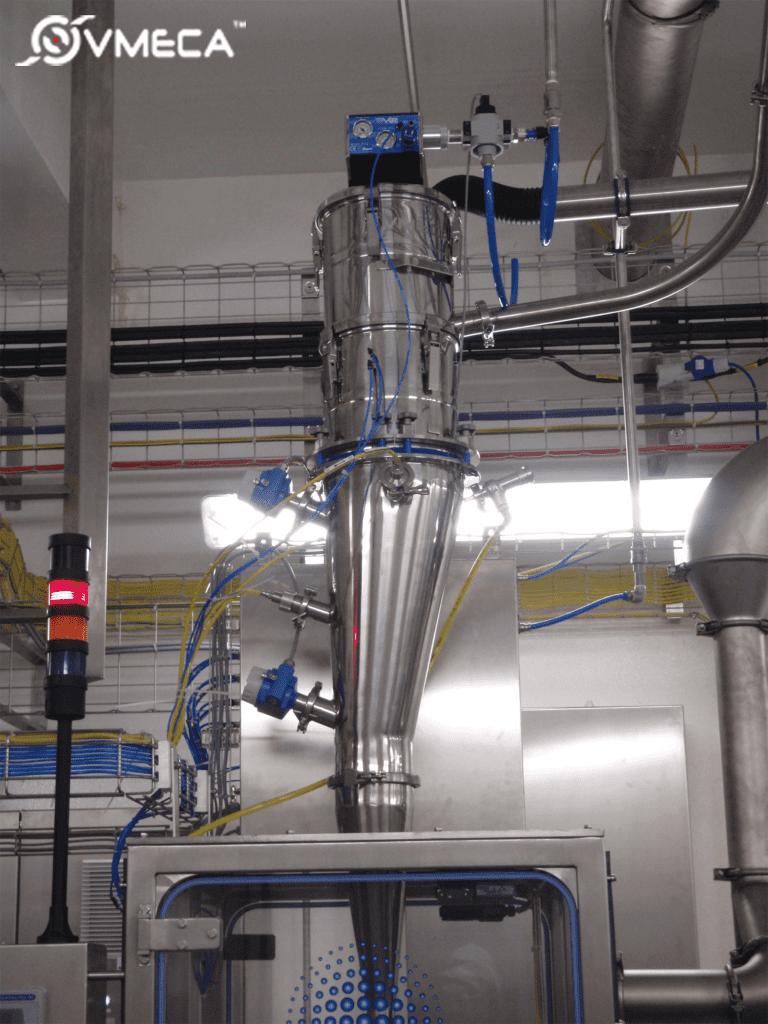 Nitrogen fed Vacuum Conveyor for Nestle Azera