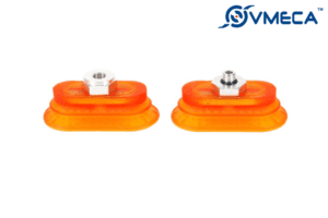 VOBF40X80 (VOBF Series Oval Flat Bellows Vacuum Suction Cups)